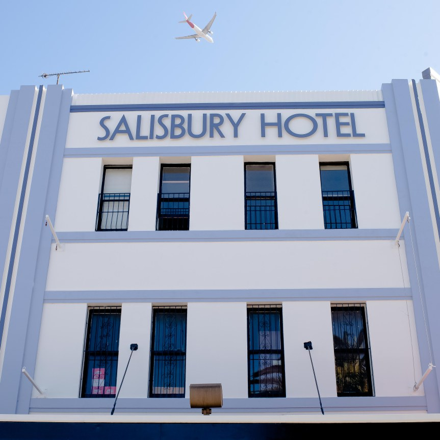 Stanmore's Salisbury Hotel has a new look, feel and family friendly menu