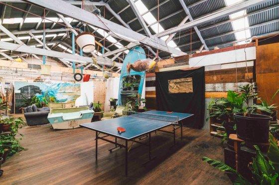Nauti Studio common area for creatives to collaborate