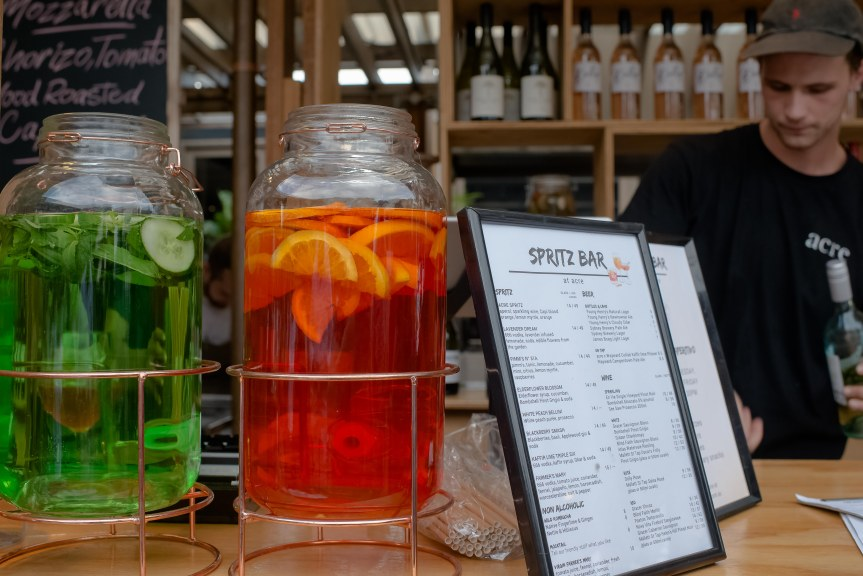 A new Spritz bar opens in Camperdown