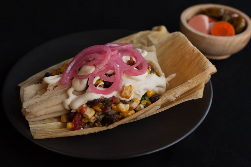 Vegan tamale